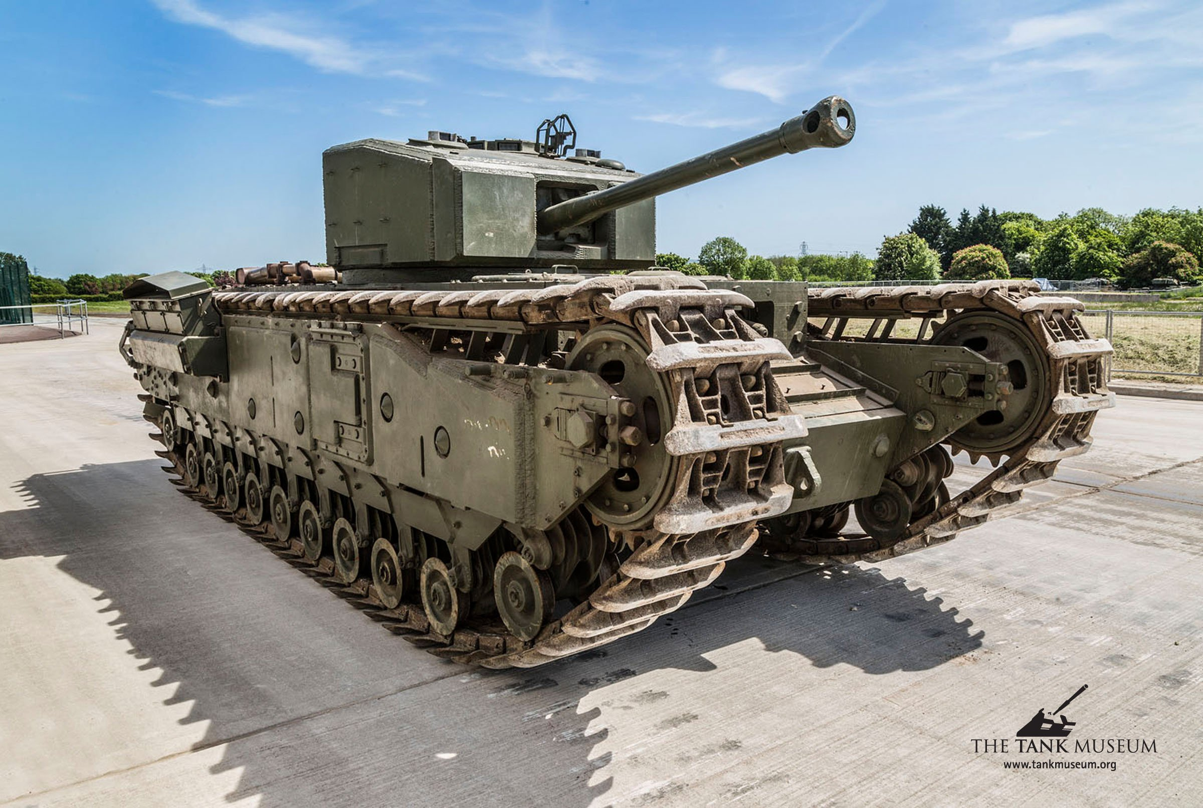 The Tank Museum Churchill Mk.III*
