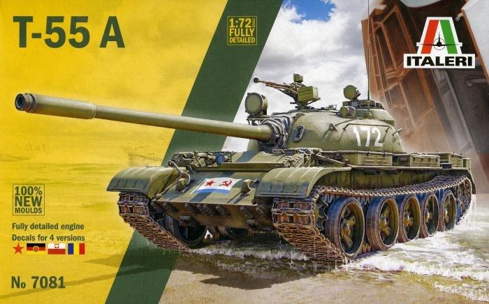 Italeri 1/72 T-55A