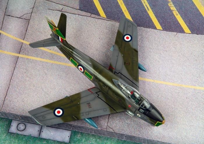 Airfix 1/48 Canadair Sabre F.4