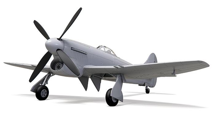 Airfix 1/72 Hawker Tempest Mk.V