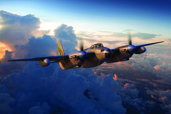 Airfix 1/72 de Havilland Mosquito B.VXI