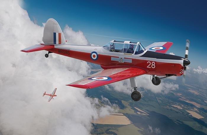Airfix 1/48 de Havilland Chipmunk