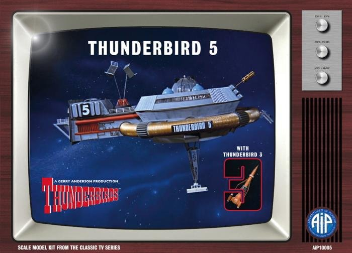 AiP Thunderbird 5 and Thunderbird 3
