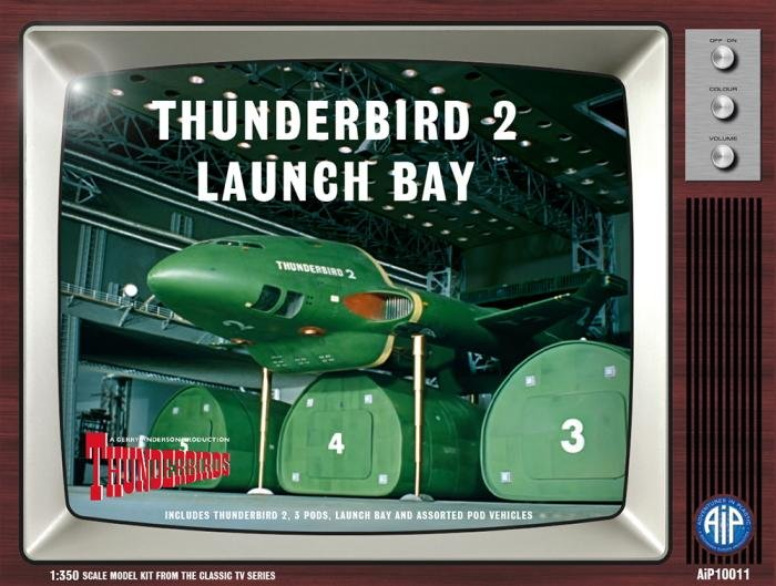 AiP 1/350 Thunderbird 2 Launch Bay