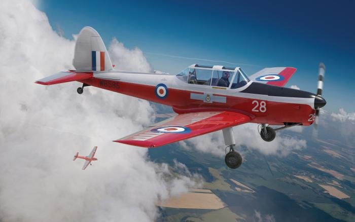 Airfix 1/48 de Havilland Chipmunk