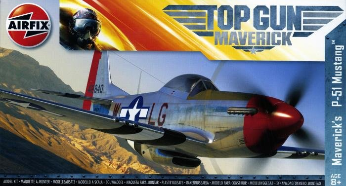 Airfix Top Gun Maverick's P-51