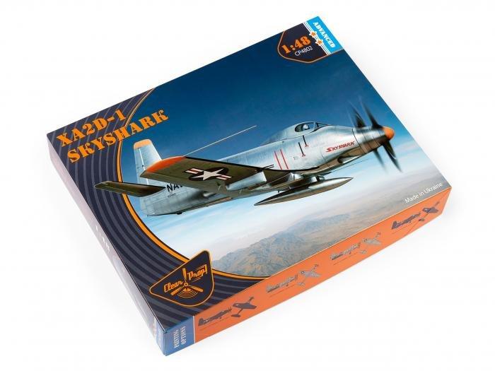 Clear Prop 1/48XA2D-1 Skyshark