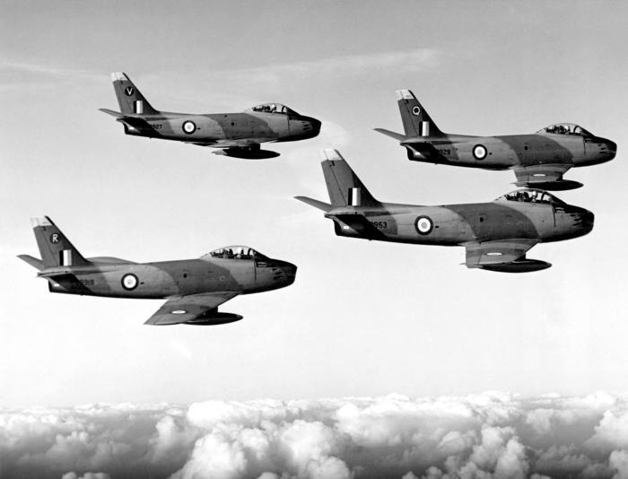 RAF Sabre History