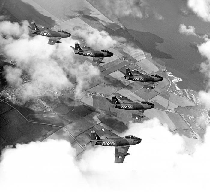 Key Collection 92 Sqn F.4 Sabres