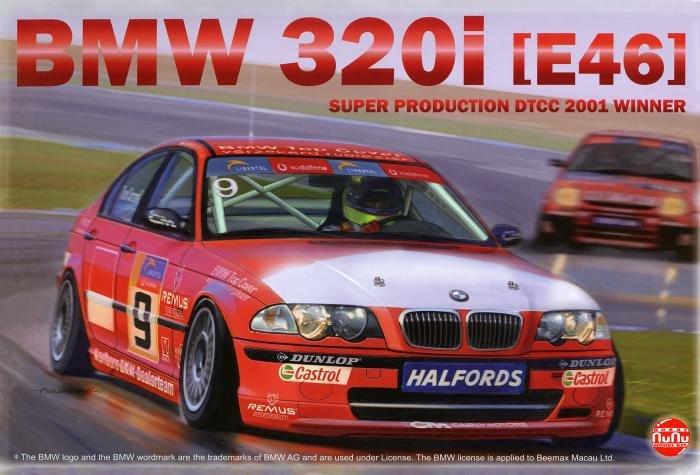NuNu 1/24 BMW 320i