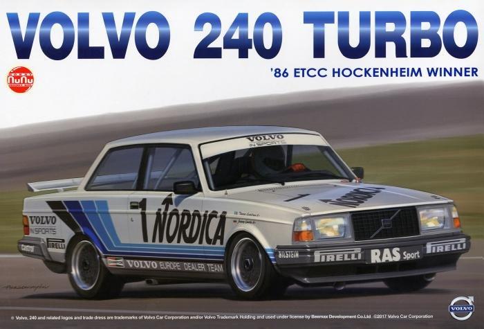 NuNu 1/24 Volvo 240 Turbo
