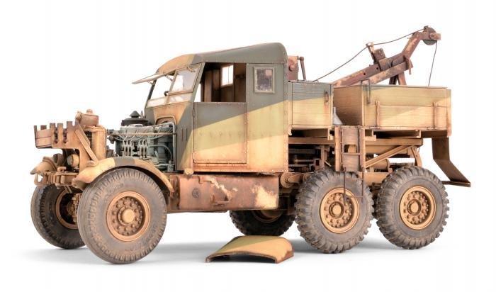 Thunder Model 1/35 Scammell Pioneer