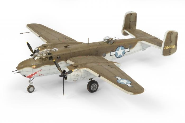 Airfix 1/72 B-25 Mitchell Quick Conversion
