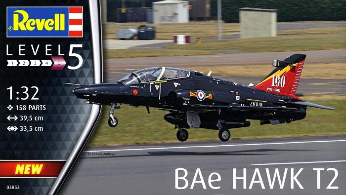 Revell 1/32 BAe Hawk T.2