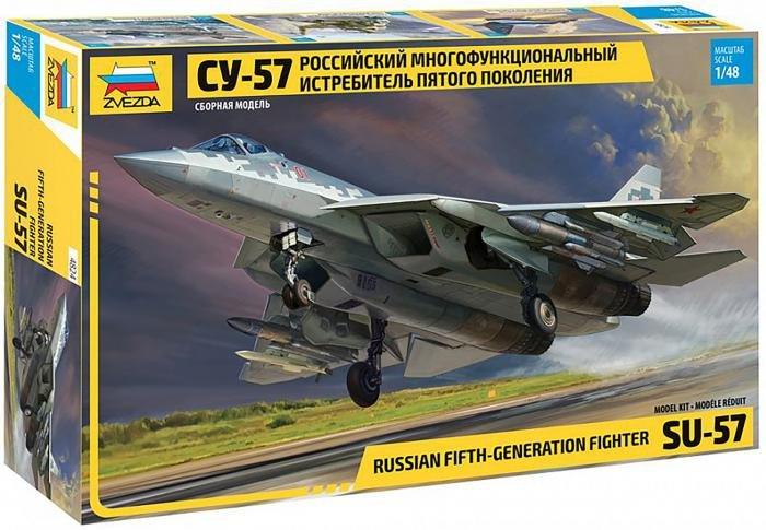 Zvezda 1/48 Su-57