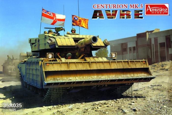 Amusing Hobby 1/35 Centurion AVRE