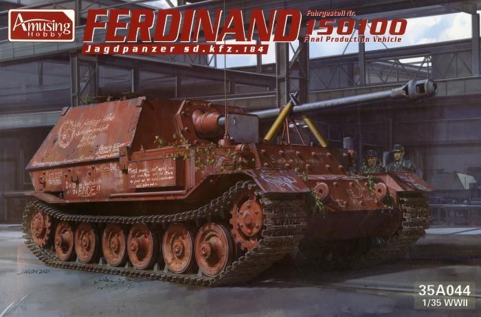 Amusing Hobby 1/35 Ferdinand 150100