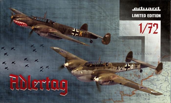 Eduard 1/72 Bf 110 Aldertag