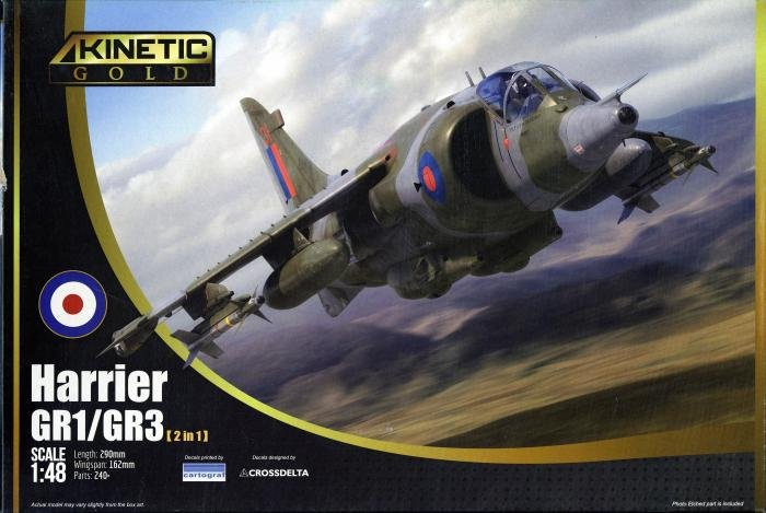 Kinetic 1/48 Harrier GR.1/3