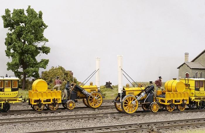 Rocket train packs