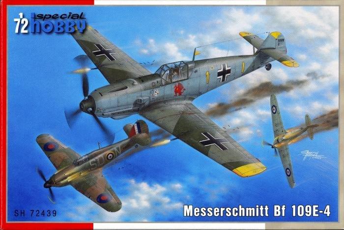 Special Hobby 1/72 Bf 109E-4