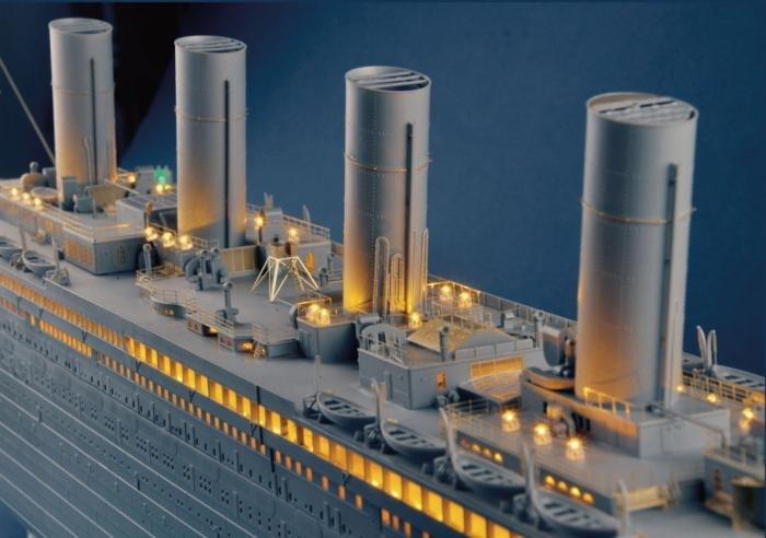 Trumpeter 1/200 Titanic Upgrade