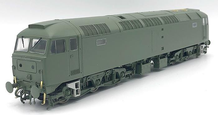 Heljan Class 47 three-quarter view