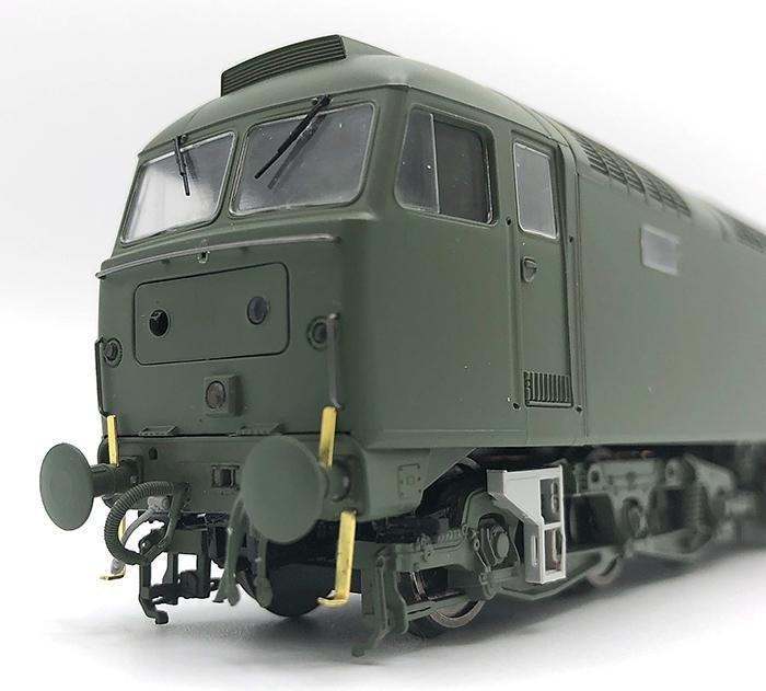 Heljan Class 47 cab front 2