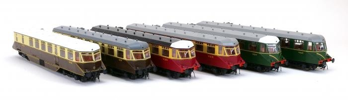 Heljan GWR railcars