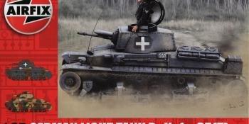 Airfix 1/35 German Light Tank