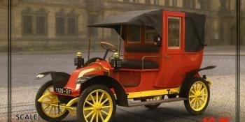 ICM 1910 Paris Taxi