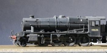 Hornby steam detailing