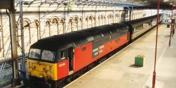 Class 47 47734 Crewe