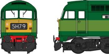 Heljan Class 47 artwork