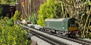 Garden railway construction