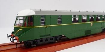 Heljan O gauge railcar