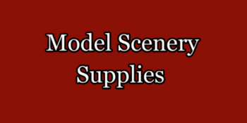 Model Scenery Supplies
