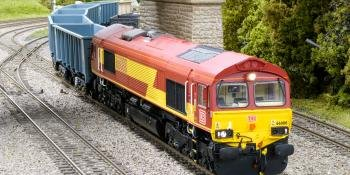 HM163 Hattons Class 66 with Legomanbiffo sound