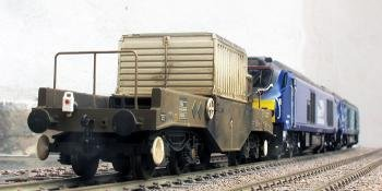 HM165 nuclear wagon weathering