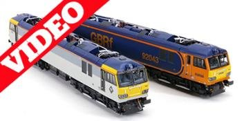 HM165 Revolution Trains Class 92