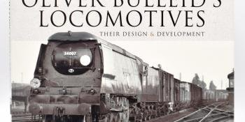 HM166 Bulleid locomotives book review