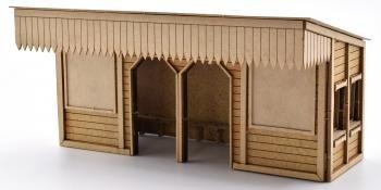 SMS platform shelter