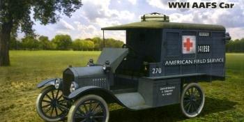 ICM 1/35 Model T Ambulance