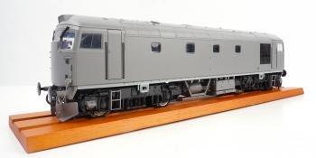 Heljan O gauge Class 26 sample
