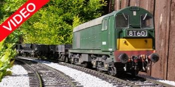 HM168 Weathered Class 20 for O gauge