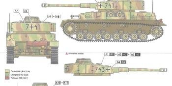 MARKINGS FOR LARGE-SCALE ARMOUR